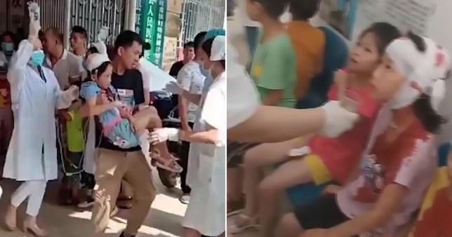 Attaque au couteau à l'école primaire chinoise