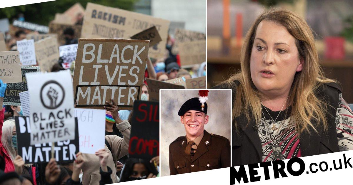 Lee Rigby's family urge people not to use him against Black Lives Matter protests - metro