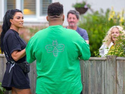 Katie Price and Harvey have touching reunion with her mum Amy after 10 weeks apart