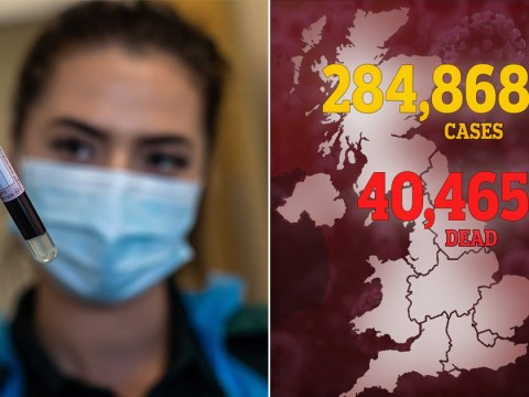 Coronavirus death toll rises to 40,465 after another 204 people die in UK