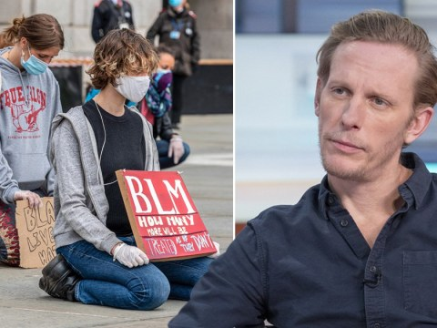 Laurence Fox refuses to take the knee in solidarity with Black Lives Matter due to 'master-servant' connotations
