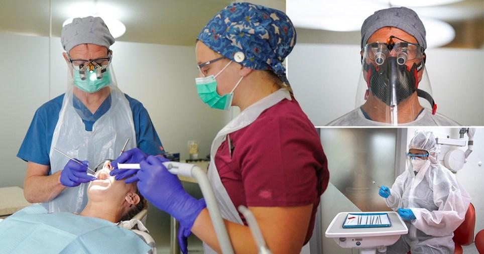 Dentists return to work on June 8, 2020 as the UK coronavirus lockdown is gently eased