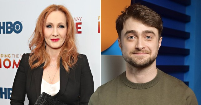 JK Rowling Daniel Radcliffe