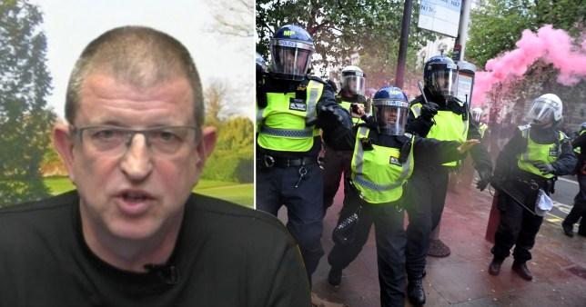coronavirus could lead to riots, Professor Clifford Stott says