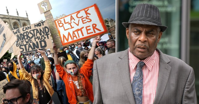 Stephen Lawrence's dad Neville, said that black people are treated as second-class citizens