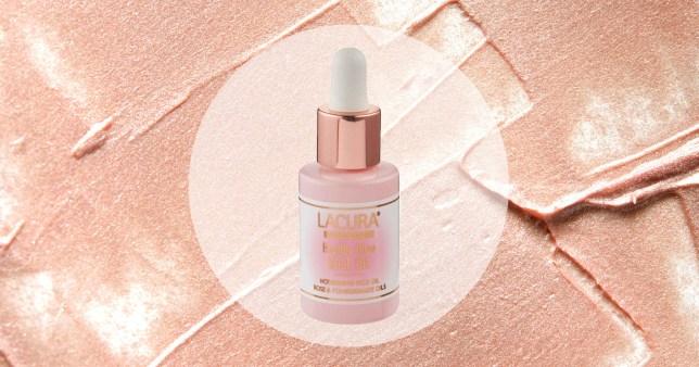 Aldi Lacura rose oil