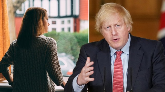 Boris Johnson on 'support bubbles'