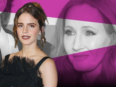 Emma Watson shares her support for transgender charities after JK Rowling's comments