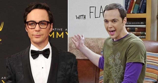 Jim Parsons and Sheldon Cooper on The Big Bang Theory