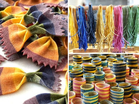 Woman creates amazing pasta in every colour imaginable