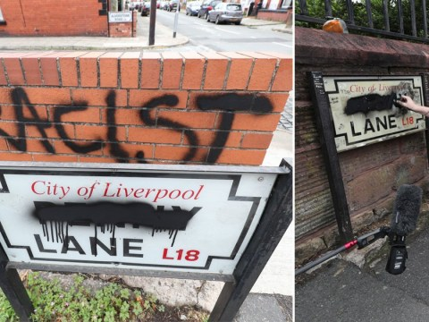 Penny Lane signs vandalised in Liverpool amid claims of slave trade links