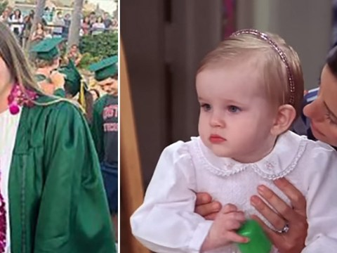 Friends' baby Emma has just graduated from high school and we feel incredibly old