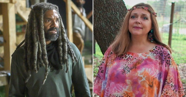 The Walking Dead Khary Payton and Tiger King's Carole Baskin