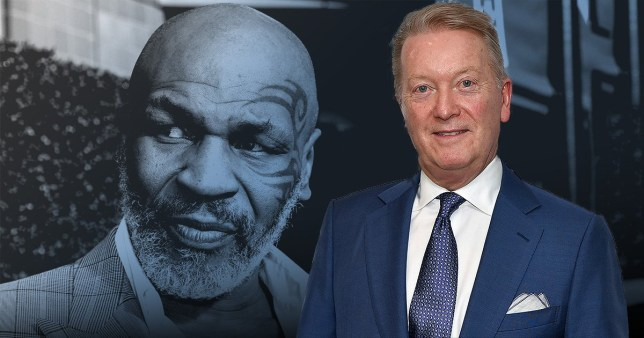Frank Warren and Mike Tyson