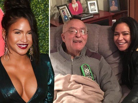 Cassie pays emotional tribute as her grandfather dies: 'I wish I could hug you'