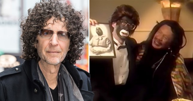 Howard Stern backlash for using Blackface and the N-Word in 1993 ...