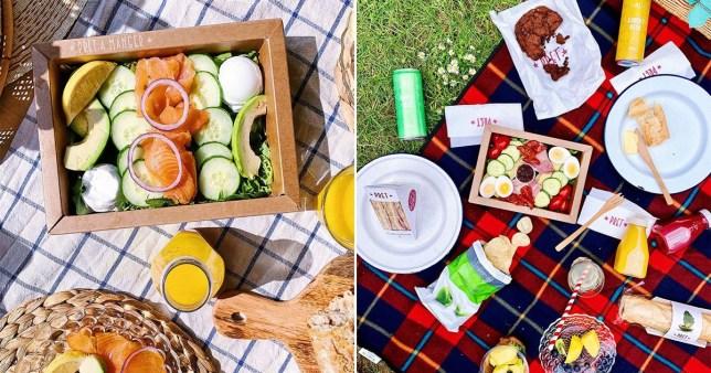 prêt picnic platters