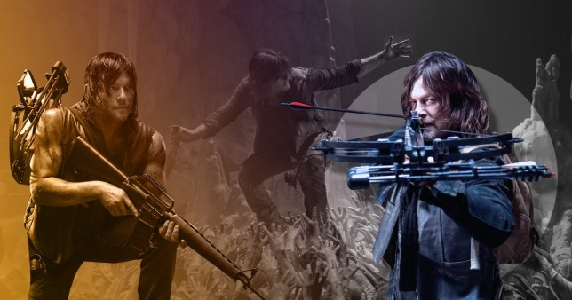 The Walking Dead's Norman Reedus as Daryl Dixon