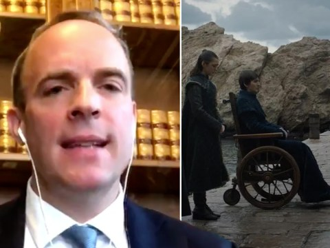 Dominic Raab would not take knee for BLM as he thinks it's from Game of Thrones