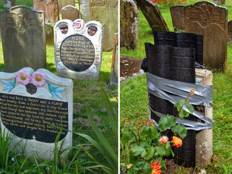 Grave of enslaved African vandalised in 'revenge attack' over Colston toppling