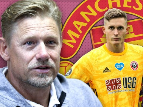 Peter Schmeichel urges Dean Henderson to be patient over Manchester United spot