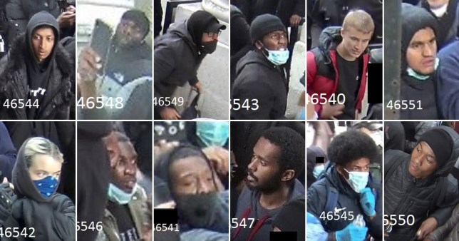 CCTV images issued by the Metropolitan Police