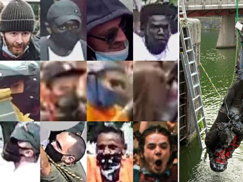 Faces of 15 people wanted by police over toppling of Edward Colston statue