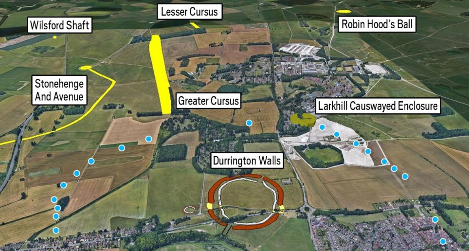 Huge 4,500-year-old stone circle discovered near Stonehenge ...