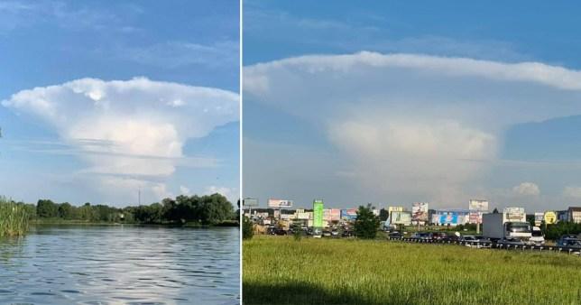 mushroom cloud ukraine