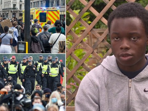 Boy, 16, 'glassed by far right activists' stopped and searched by police while seeking help