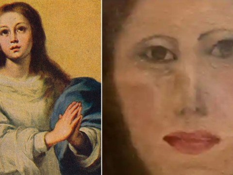Face of the Virgin Mary ruined after cleaning job botched by furniture restorer
