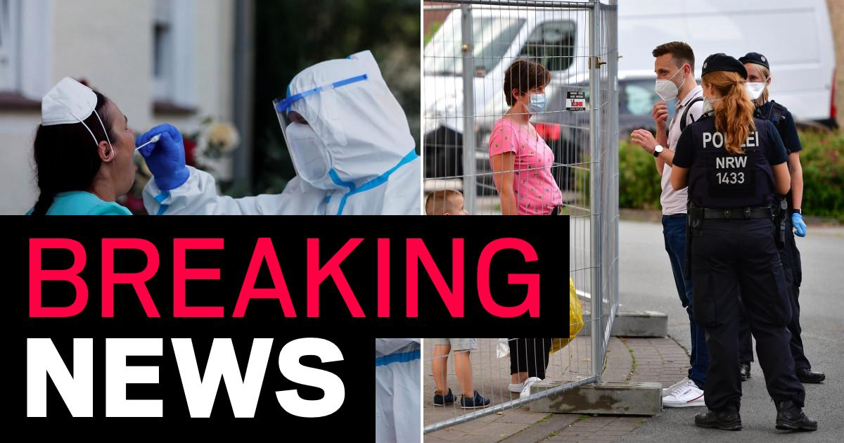 German state back in lockdown after 1,500 cases confirmed at meat factory