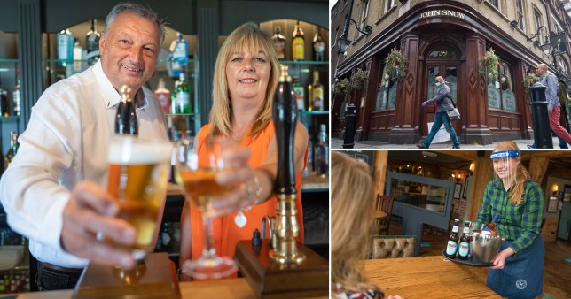 Pubs given the green light to re-open on July 4