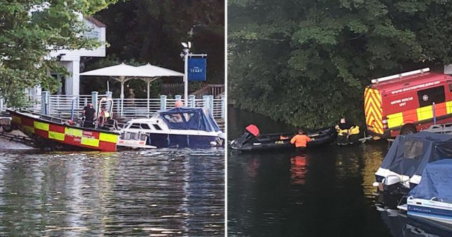 A police search has been launched for a man feared to have drowned in the River Thames in Cookham, Berkshire.
