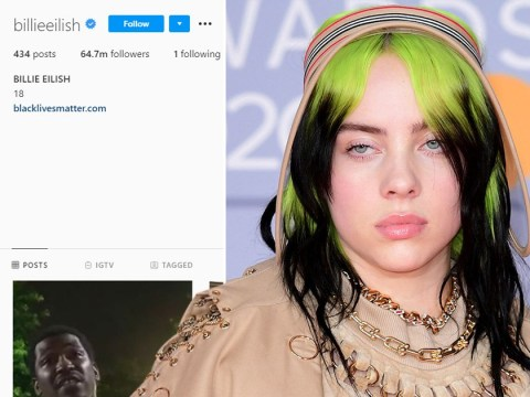 Billie Eilish unfollows everyone on Instagram and fans are trying to guess the reason