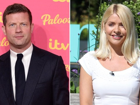 Holly Willoughby counting down the days until she can snuggle with Dermot O'Leary's newborn