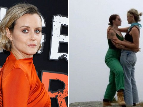 Orange Is The New Black's Taylor Schilling reveals she's dating artist Emily Ritz in sweet post as she celebrates Pride