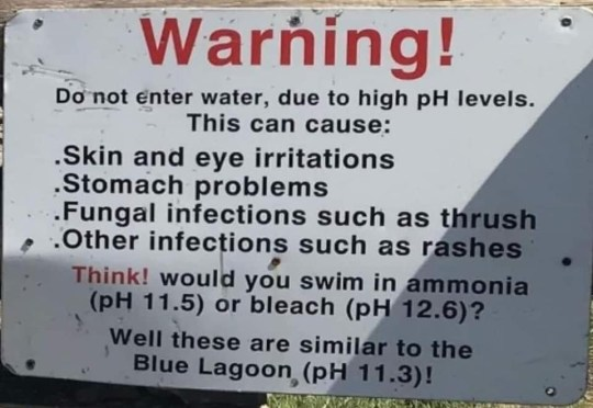 People are still tombstoning into Blue Lagoon that's as toxic as household bleach