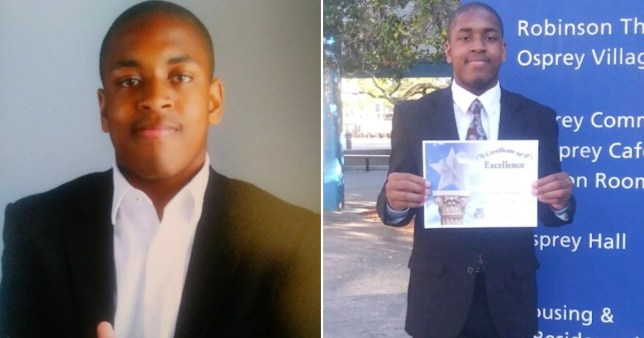 Homeless teen graduates from high school as his class' top student