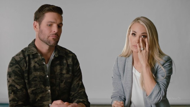 Mike Fishcher and Carrie Underwood discuss miscarriage