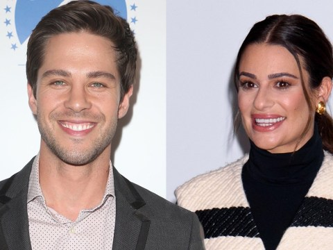 Lea Michele's former on-screen boyfriend  defends star after Glee co-stars call her 'unpleasant' to work with