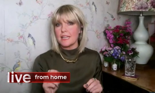 Ashley Jensen appearing on The One Show 05.06.20 (Picture: BBC)