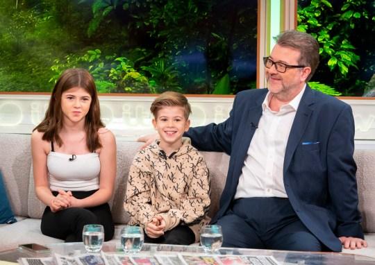 Kate Garraway husband and children