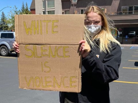 Sophie Turner hits back at Black Lives Matter protest criticism: 'This is about changing the system'