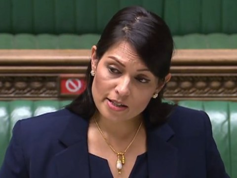 Priti Patel criticises 'racist' cartoon showing her as a 'fat cow' in the Guardian