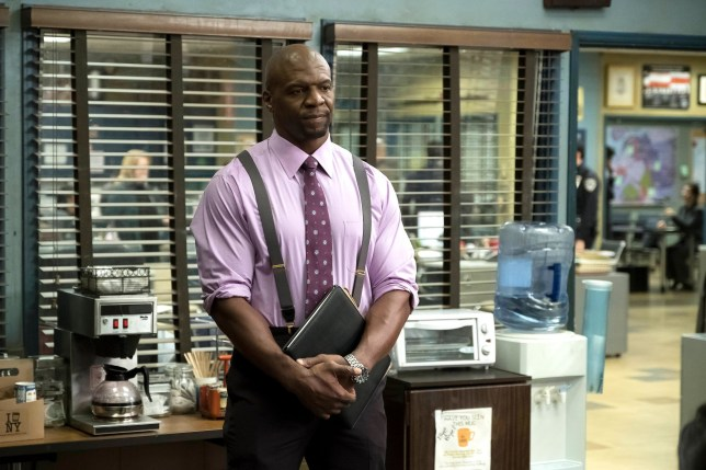 Terry Crews in Brooklyn Nine-Nine