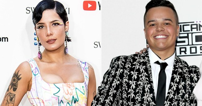 Halsey proud of her brother for using his voice to protest