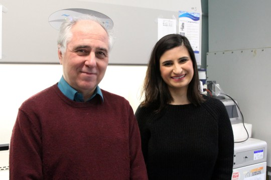 Alfonso Martinez Arias and Naomi Moris (Credits: University of Cambridge / SWNS)