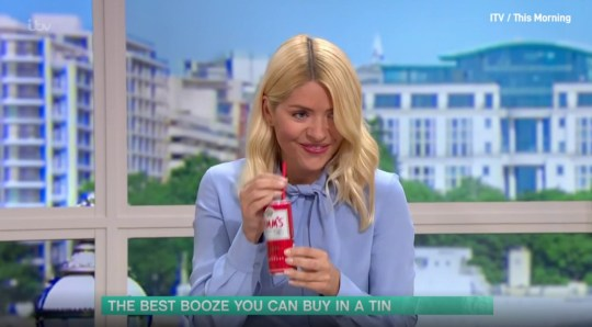 Holly Willoughby reveals tin hack to stop you losing straws