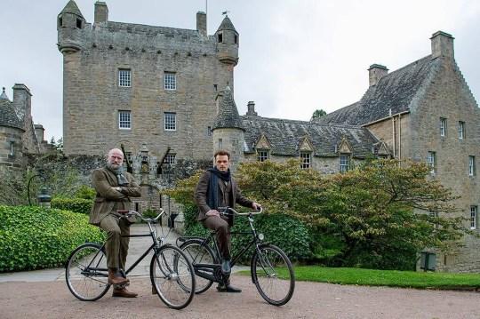 Outlander's Sam Heughan and Graham McTavish explore Scotland together for travel series Men In Kilts